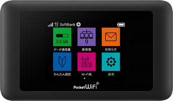 Softbank レンタル Pocket WiFi 601HW