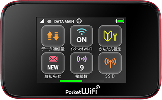 Y!mobile レンタル Pocket WiFi GL10P